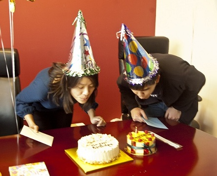 Erika and Siu Rui birthday image