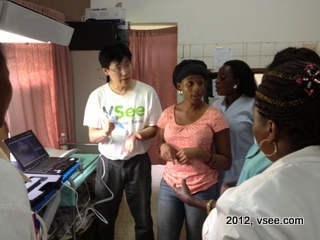 Gabon midwives and nurses
