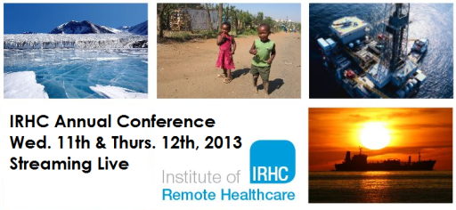 IRHC remote offshore medicine conference 2013