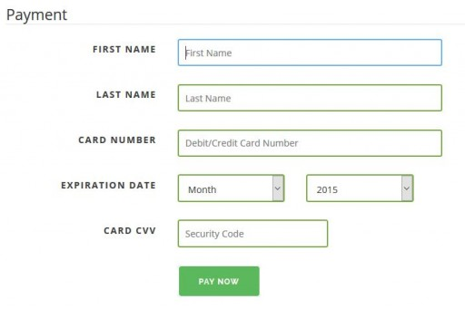 how to change communauto credit card infor