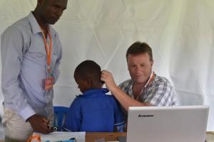 rwanda telemedicine ear clinic