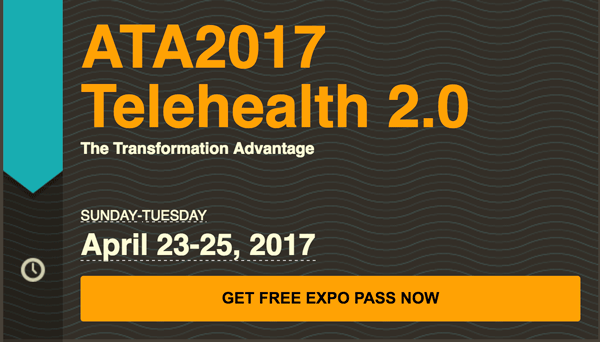 Get Special Passes to ATA 2017: Telehealth 2.0 | The Transformation Advantage