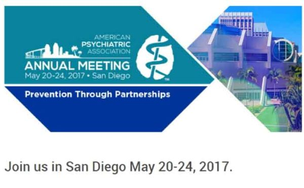 Join us for APA in San Diego May 20-24, 2017
