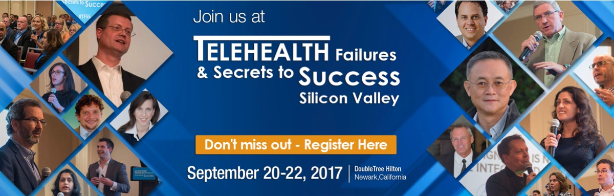 ... innovators, payors, physicians, policymakers, and investors! Mark your calendars for the 2nd Telehealth Failures & Secrets To Success conference, Sep.